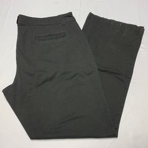 Maurices Size 20L Black Boot Cut Pants